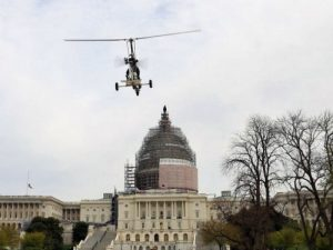 Approaching the U.S. Capitol